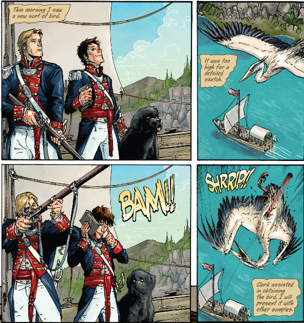 Manifest Destiny #1 by Chris Dingess, Matthew Roberts, and Owen Gieni