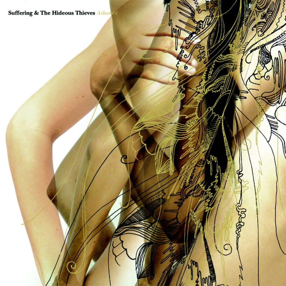 suffering and the hideous thieves ashamed album cover