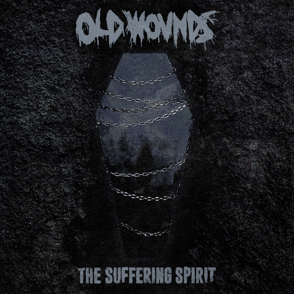 old wounds the suffering spirit album cover